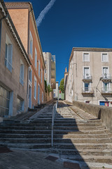 Old town staircase.