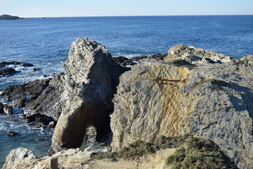 Cliffs on the Alentejo coast