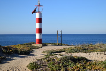 Lighthouse on the Alentejo Coast
