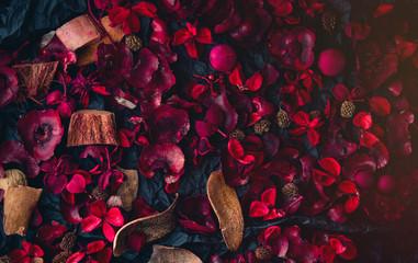 tropical rose petals tea