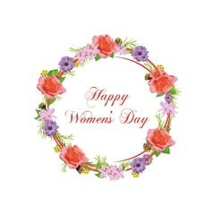 Obraz Happy Women's Day - 8 marca - fototapety do salonu