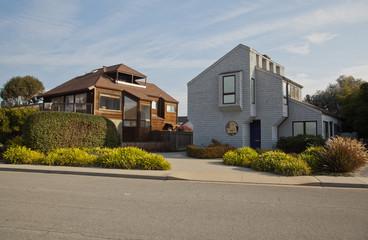 Modern house in Santa Cruz,California.
