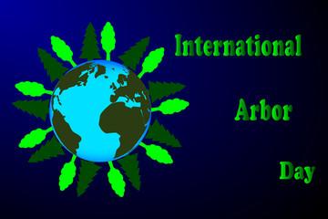 International Arbor Day, Natural background