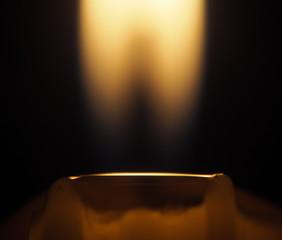 Candle fire macro