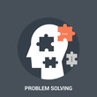 problem solving icon concept