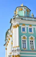Telegraph tower of the Winter Palace.