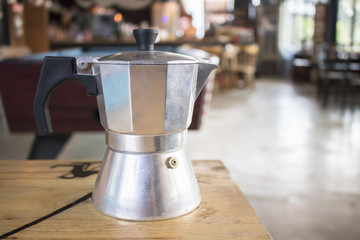 vintage coffee kettle