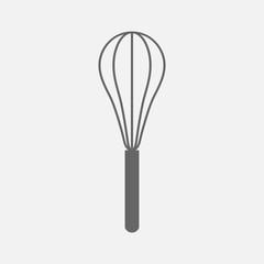 Wire Whisk  kitchen utensil  ,  vector icon