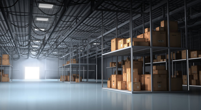 Warehouse and Boxes
