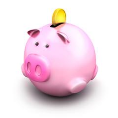 Fat piggy bank