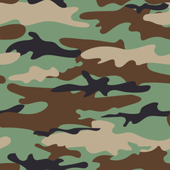 seamless pattern with khaki pattern
