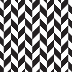 trendy black-white seamless pattern