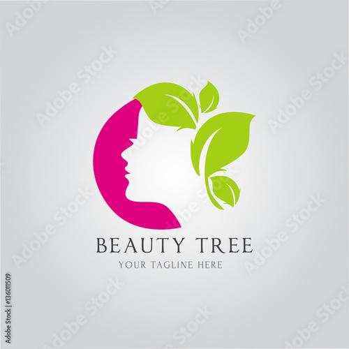 quotnatural beauty logo design vector spa and treatment logo