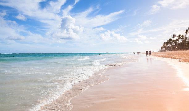 Bavaro beach coastal landscape