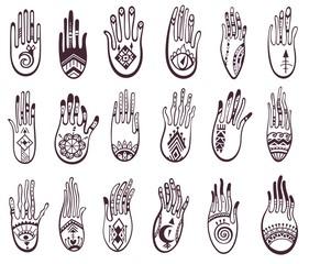 Hamsa hands collection