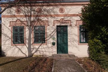 Fassade im Biedermeier Stil
