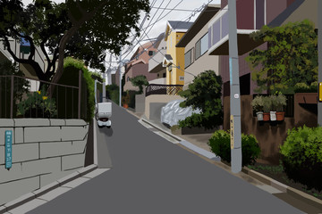Blank Road