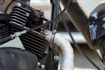 intake of motorcycle