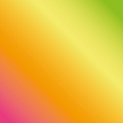 Colorful smooth gradient, color background, colorful wallpaper. Pink, yellow, orange, green wallpaper