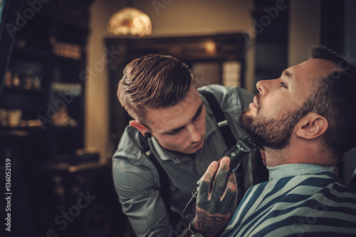 fashioned mens barber shop - HD1280×1179