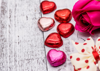 Valentines day and Sweetest day, chocolate for love