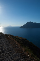 Aeolian islands from Lipari.