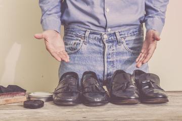 Shoes maintenance