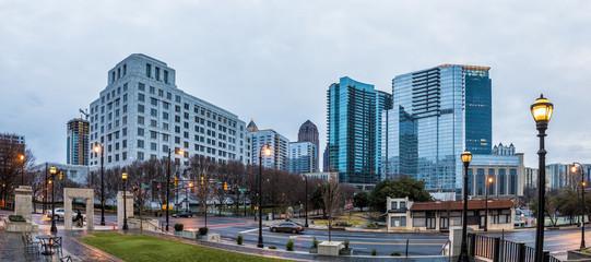 panorama of midtown Atlanta