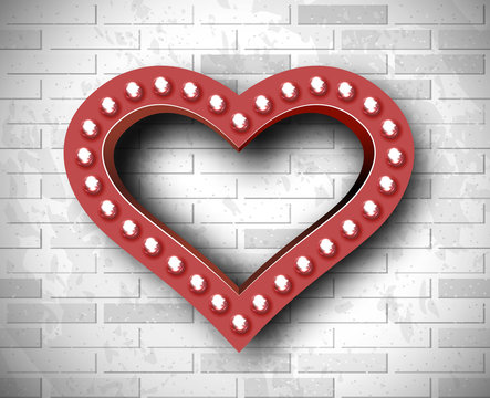 marquee heart symbol