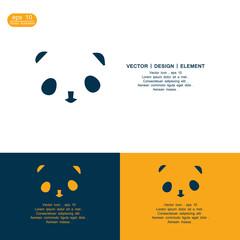 panda icon logo