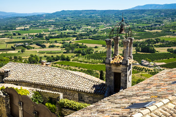 Village of Lacoste in Provence France