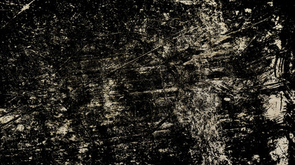 Grunge old vintage black shabby texture