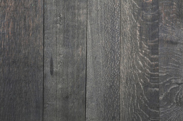 Old vintage gray wooden planks background