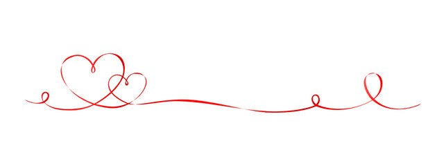 Herz Schleifenband