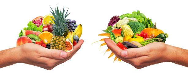 Frisches Obst und Gemüse - Fresh fruits and vegetables