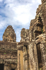 Towers and galleries in Angkor Thom, Bayon Temple