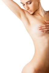 Beautiful woman's body