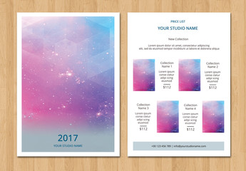 Grid Style Photography Flyer Layout 5
