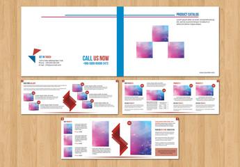 Grid Style Catalog Layout 3