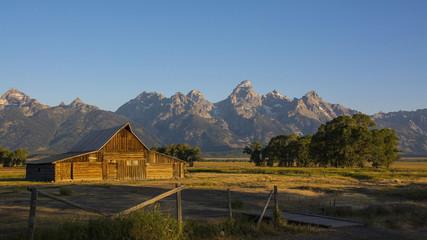 Moulton Barn Grand Tetons National Park Jackson Wyoming