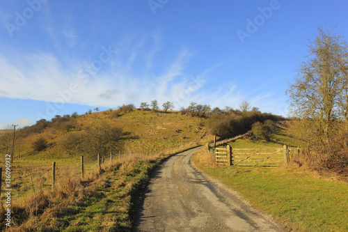 Landscaping A Sunny Hillside : Sunny winter hillside landscape quot stock photo and royalty free images