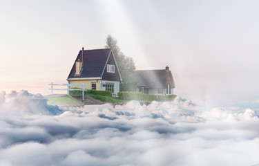 house in the clouds