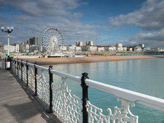 Brighton on the Pier, England