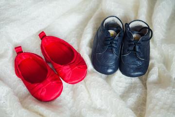 обувь для младенца мальчика и девочки