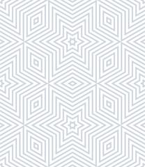 Seamless geometric stars and diamonds pattern.