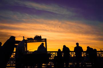 Sunrise on the bridge