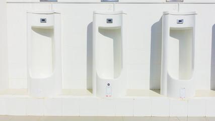 Clean Men's toilet in university