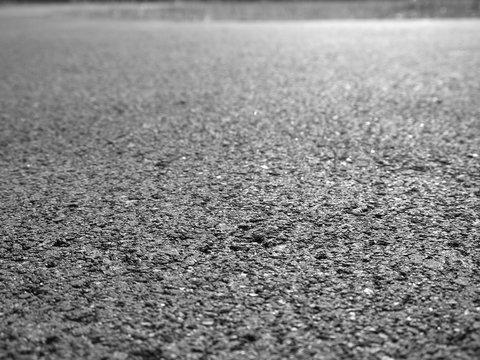 closeup asphalt road texture