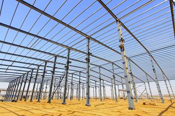 industrial production workshop roof steel beam
