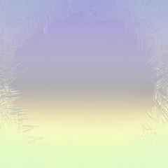 Frost pattern window